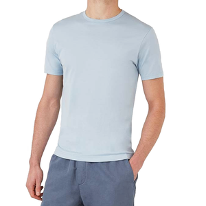 Jean Blue S/S Classic Crew Neck T-Shirt - Sydney's, Toronto, Bespoke Suit, Made-to-Measure, Custom Suit,