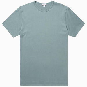 Sage S/S Classic Crew Neck T-Shirt - Sydney's, Toronto, Bespoke Suit, Made-to-Measure, Custom Suit,