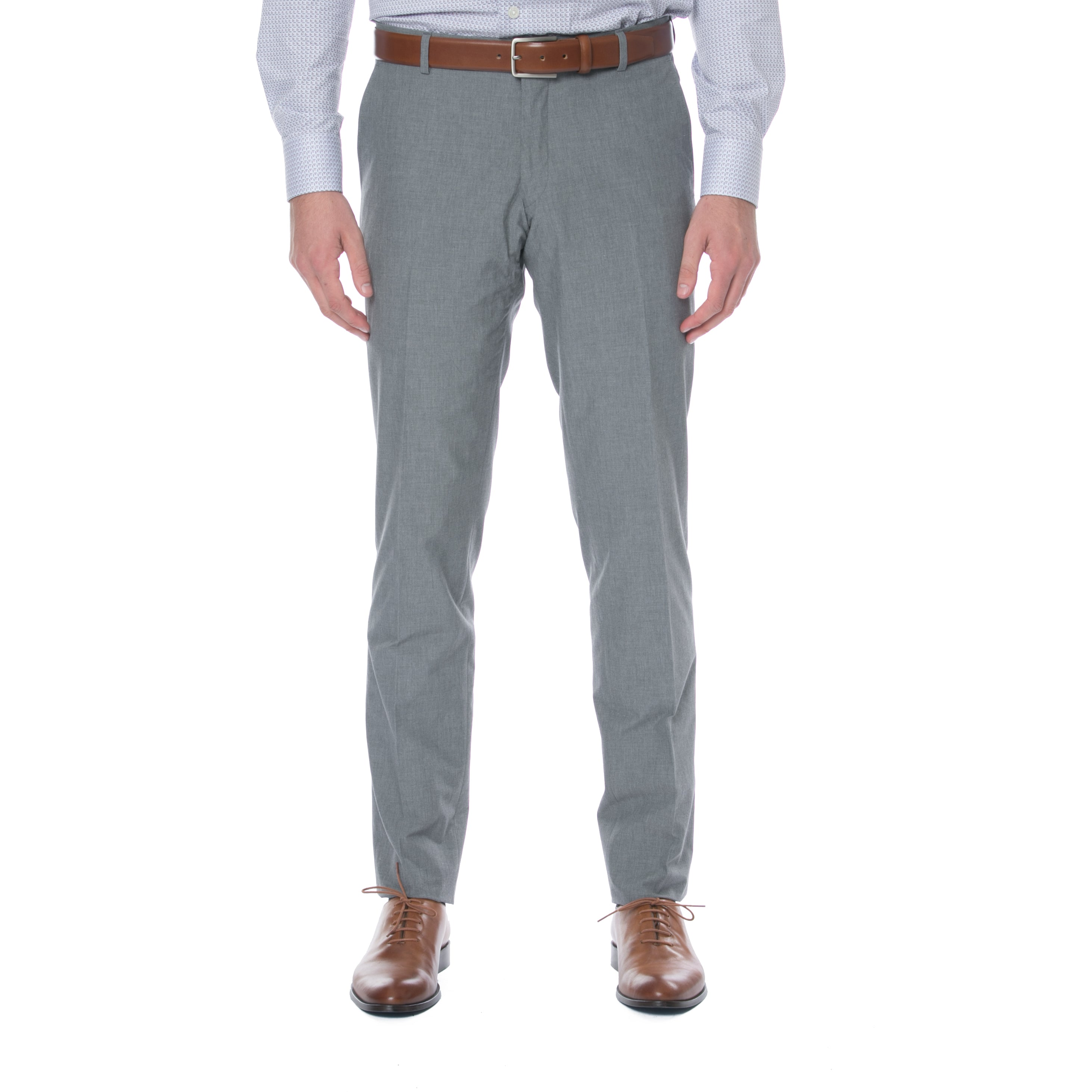 Light Grey Cotton Trouser
