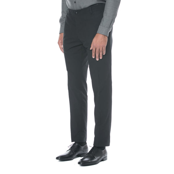 Black Cotton Trouser - Sydney's, Toronto, Bespoke Suit, Made-to-Measure, Custom Suit,