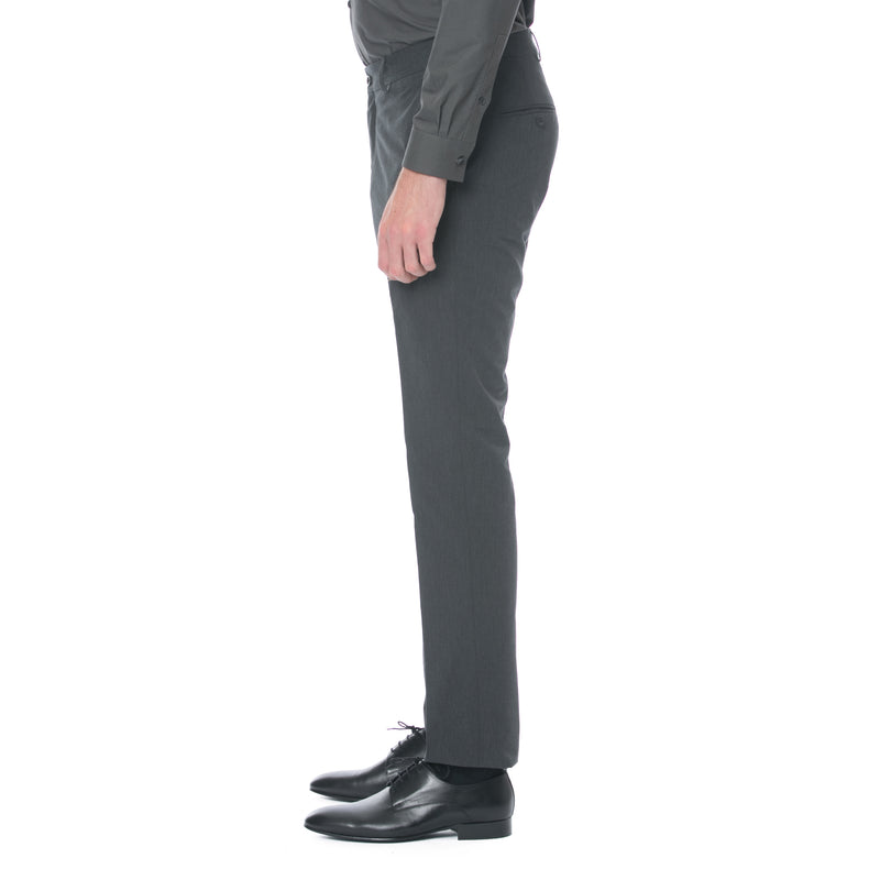 Charcoal Cotton Trouser - Sydney's, Toronto, Bespoke Suit, Made-to-Measure, Custom Suit,