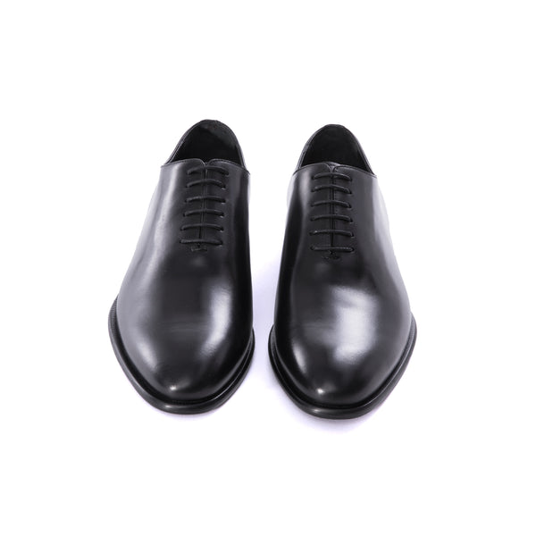 Black Wholecut Oxford Dress Shoes - Sydney's, Toronto, Bespoke Suit, Made-to-Measure, Custom Suit,