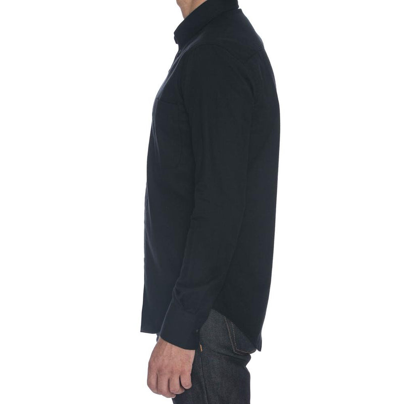 Black Oxford Long Sleeve Shirt - Sydney's, Toronto, Bespoke Suit, Made-to-Measure, Custom Suit,