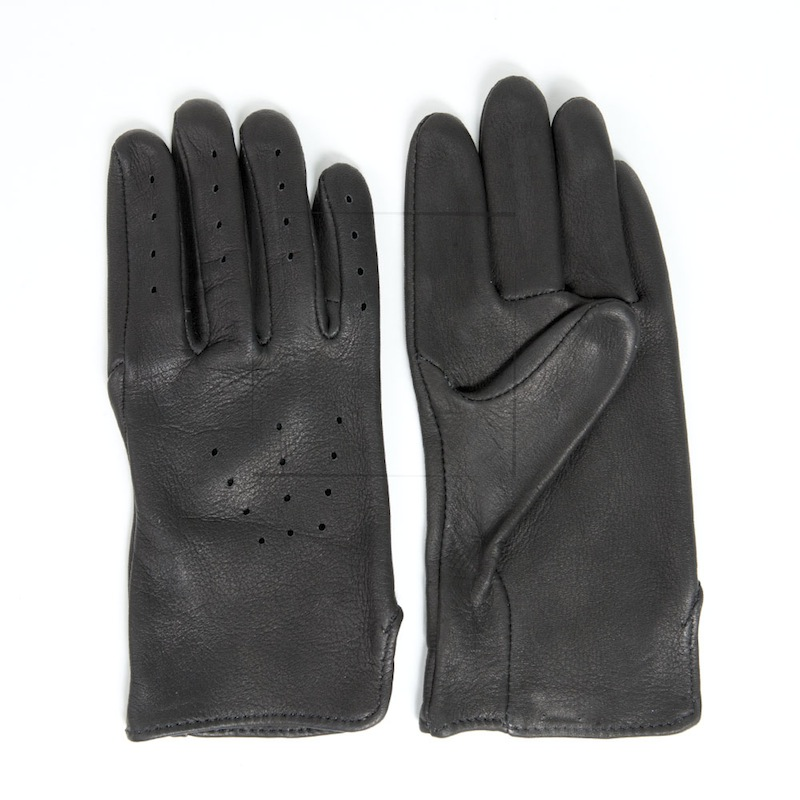 Black Deerskin Driving Gloves - Sydney's, Toronto, Bespoke Suit, Made-to-Measure, Custom Suit,