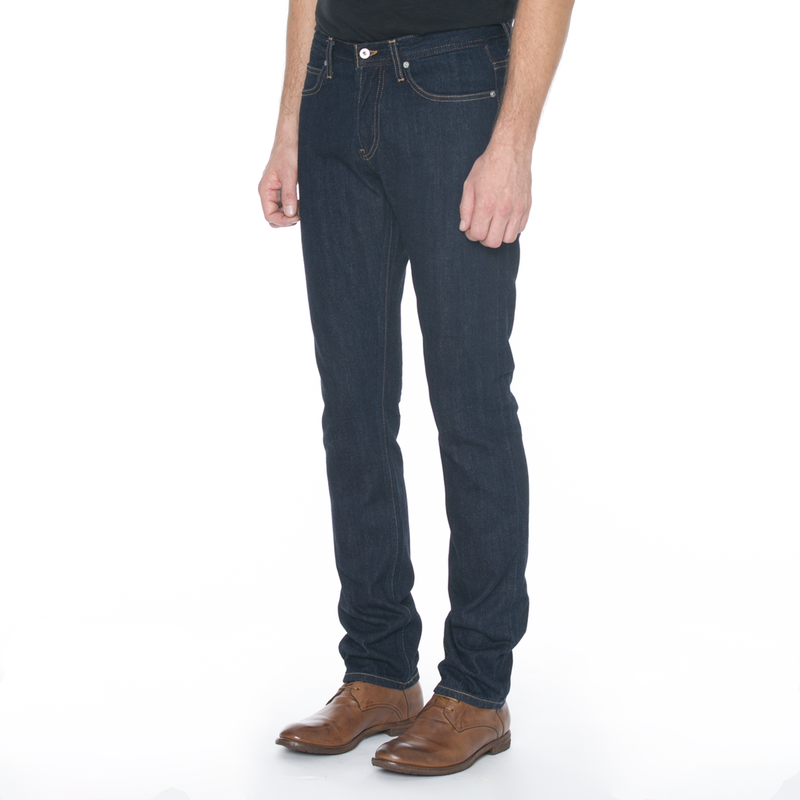 Slight Fit Indigo Dark Rinse Jeans