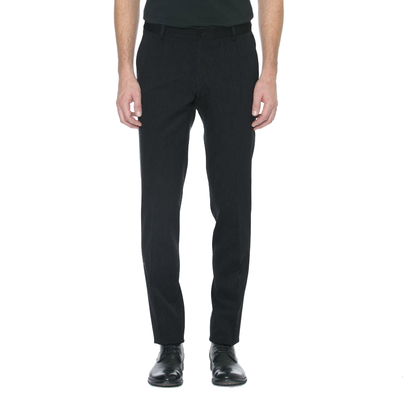 Charcoal Wool Trouser