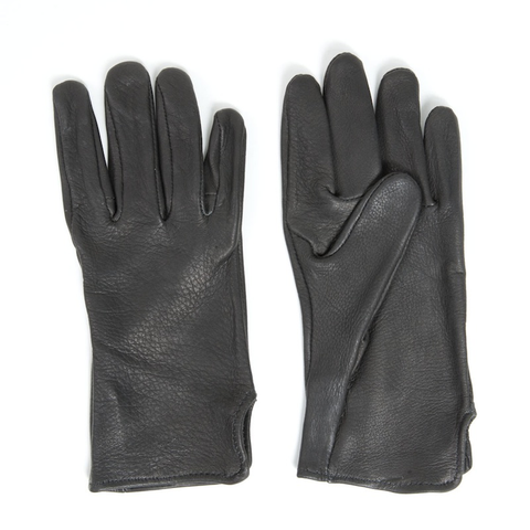 Brown Deerskin Leather Gloves