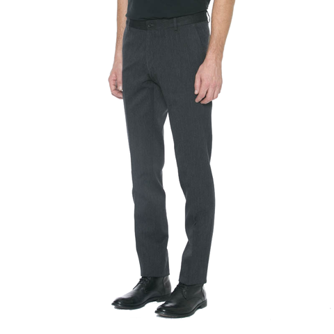 Navy Wool Twill Trousers