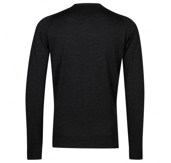Hepburn Smoke Lundy Crewneck Pullover Sweater