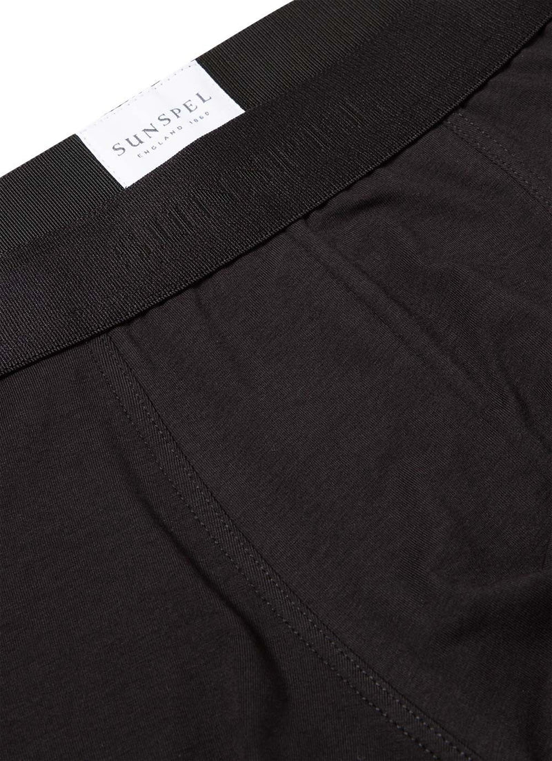 Black Cotton Stretch Trunk - Sydney's, Toronto, Bespoke Suit, Made-to-Measure, Custom Suit,
