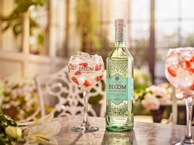 Bloom gin and tonic