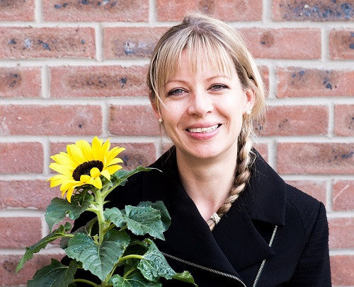 Lazy Flora founder Claire Ransom