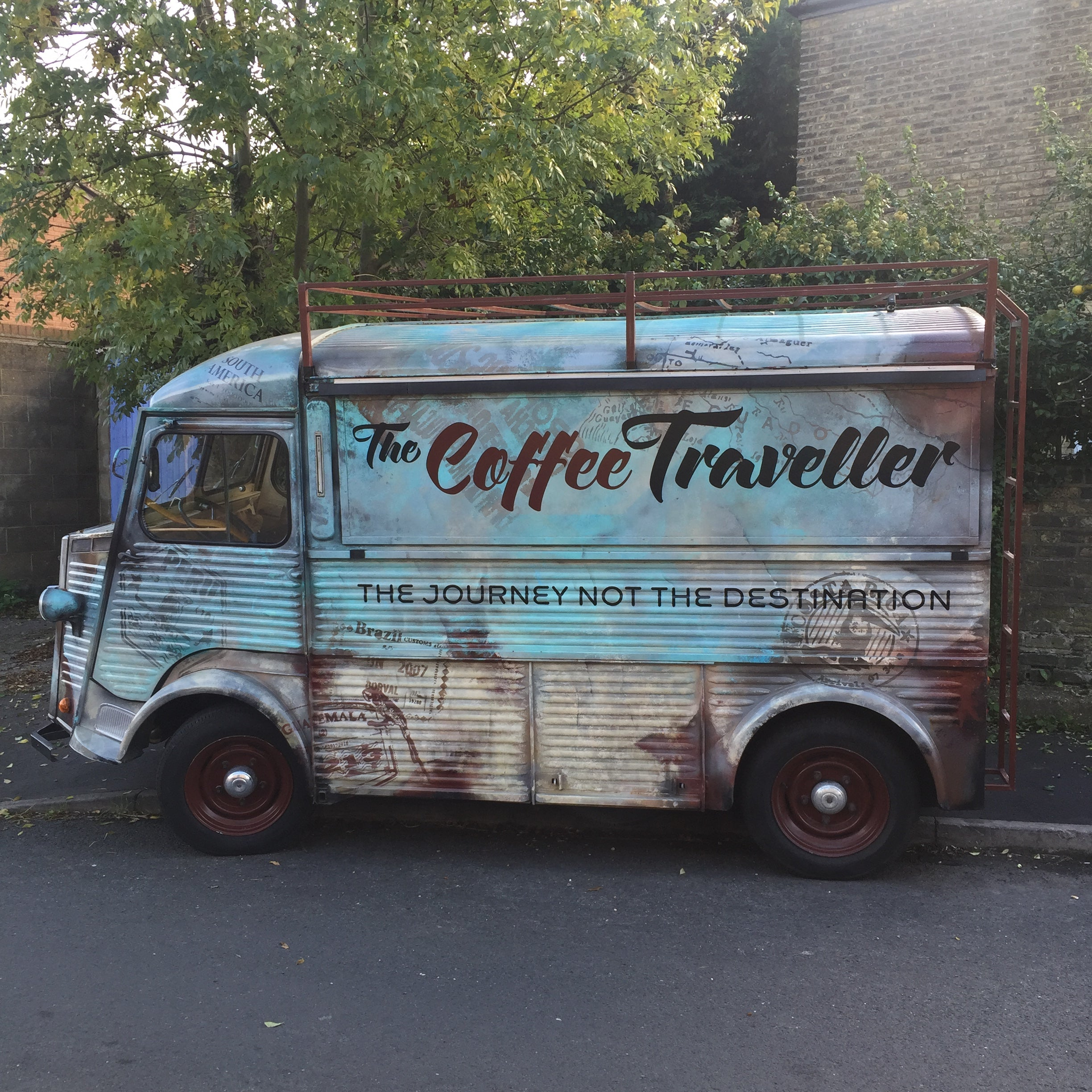 The Coffee Traveller van