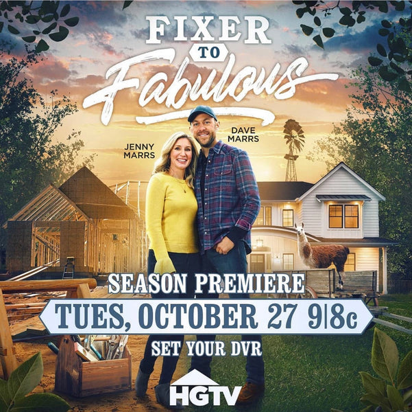 Fixer to Fabulous on HGTV