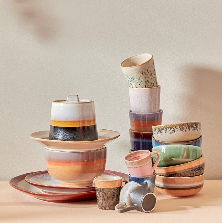 ceramics inspired by 1970 design