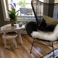 Egg Chair - coffee brown