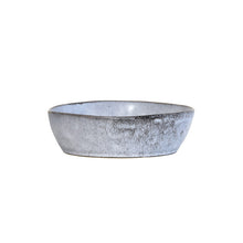 rustic look grey ceramic bowl medium size hk living usa style