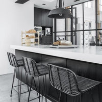 kitchen bar stools rattan black hk living usa