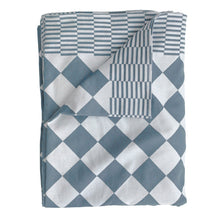 Dutch style table cloth blue and white