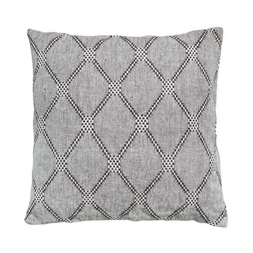 cushion black white grey diamond pattern hk living usa