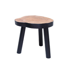 table with painted bottom made of mango wood hk living usa design