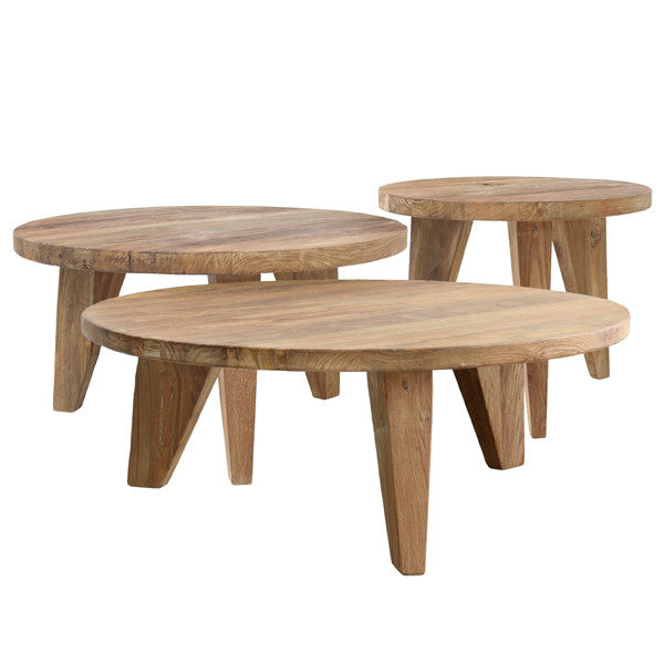 set of 3 wooden coffee tables hk living usa