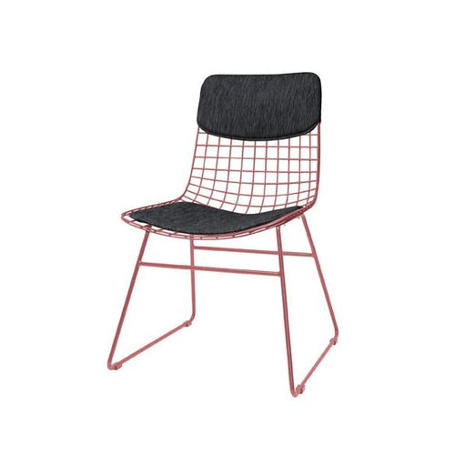 comfort kit felt black for metal wire chair