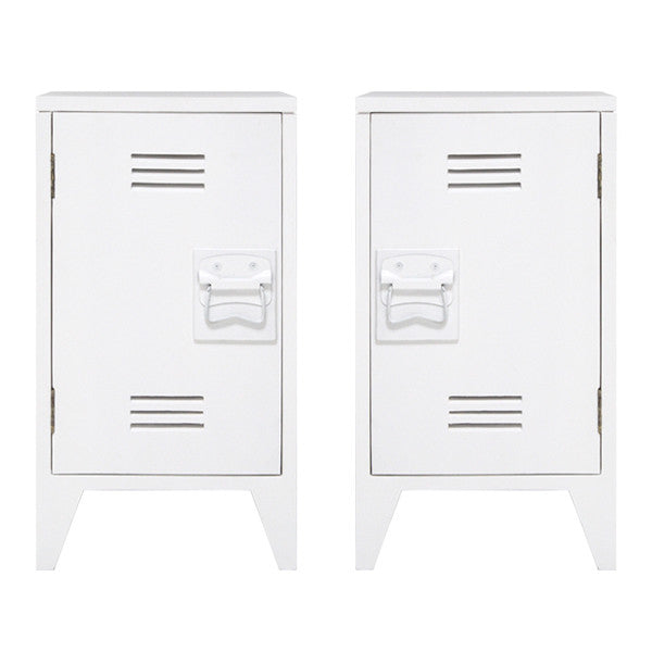 night stand locker style wood white hk living usa