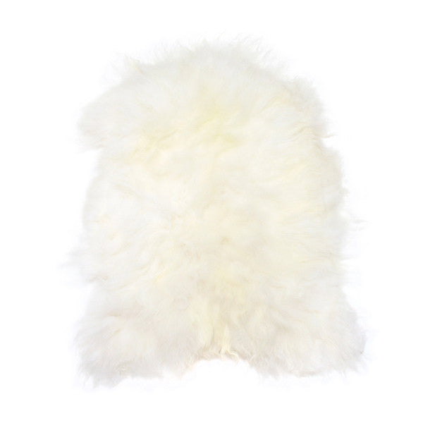 iceland sheepskin white large