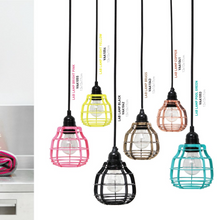 variation of colors available for pendant lights