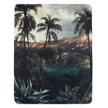 tropical island printed bedspread hk living usa
