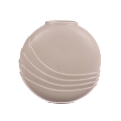 vase in matt nude color