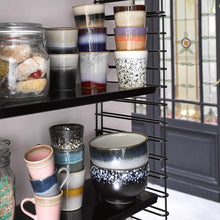 open shelving with hk living usa ceramic collection plates and bowls