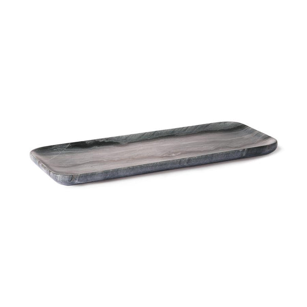 black and grey marble tray hk living usa