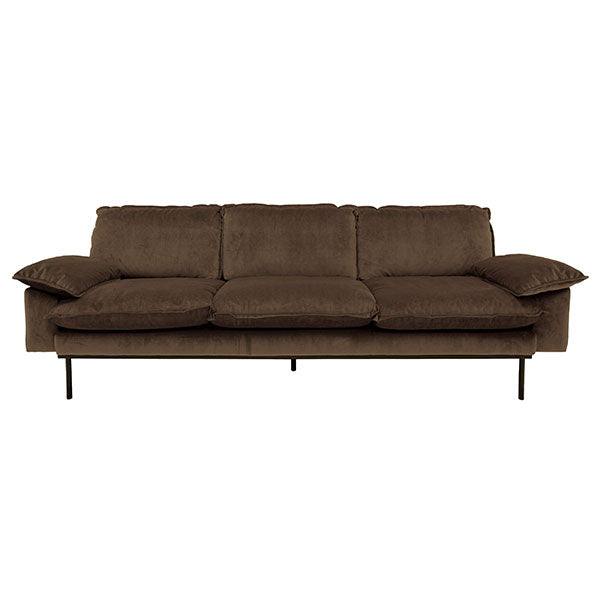 Retro Sofa | 4 seater | hazel