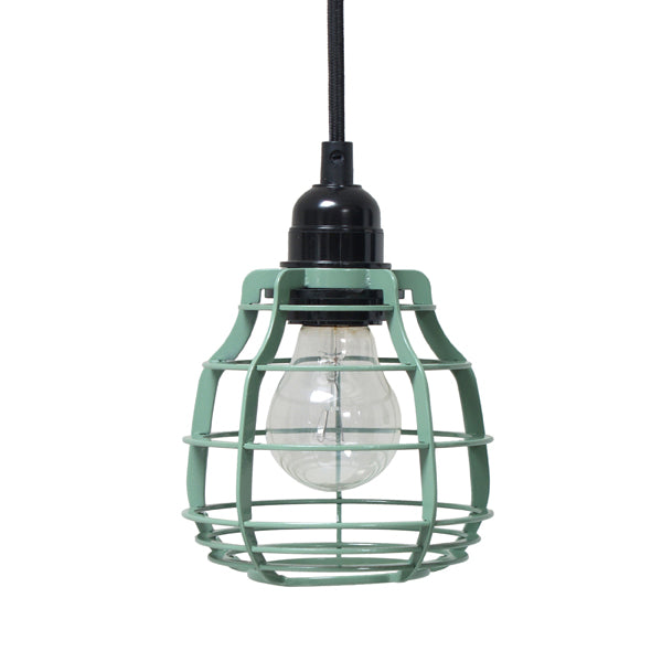 army green color lab lamp with pendle