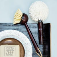 kitchen brushes with a vintage look