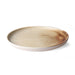 earth tones ceramic dinner plate
