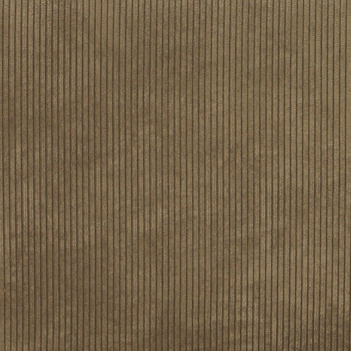 detail of corduroy brown fabric for element sofa