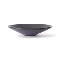 large serving bowl in purple color