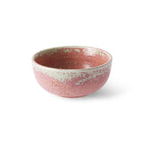 Home chef ceramics - rustic pink bowl