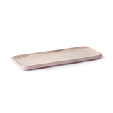 rectangle marble pink tray