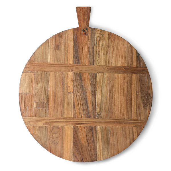 rustic large board made of reclaimed teak wood