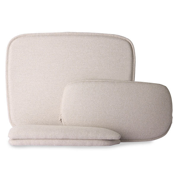 Comfort kit for wire armrest chair - sand