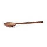 wooden ladle made from natural teak wood