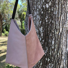 Leather bag - pretty pink