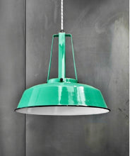 Workshop lamp Jade green - M