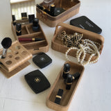 willow wooden boxes with chanel make up