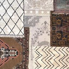 group of rugs and cotton runner