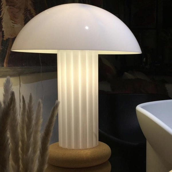 hkliving usa acrylic table lamp in white